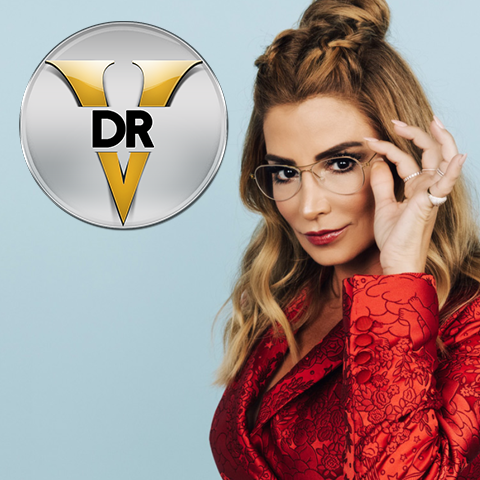 Dr. V Logo and Photo